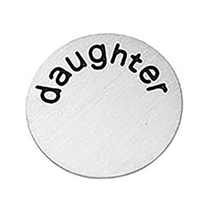 Picture of 'Daughter' Medium Silver Coin